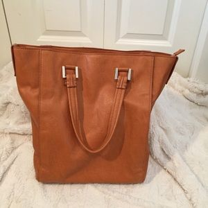 NWOT. Collection by John Lewis Leather tote bag
